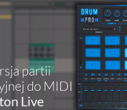 Audio do MIDI - Ableton Live