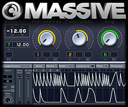 Dubstep z syntezatorem Massive