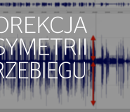 Korekcja asymetrii przebiegu audio