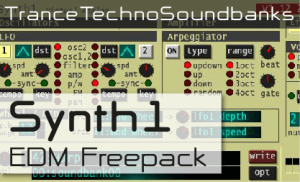 TranceTechnoSoundbanks Synth1 EDM Freepack