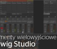 Instrumenty wielowyjściowe w Bitwig Studio